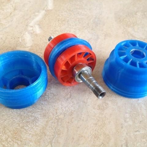 Turbine_Assy_display_large.jpg Download free STL file Turbine Rotary Tool 60,000 rpm • 3D printing object, Jeypera3D