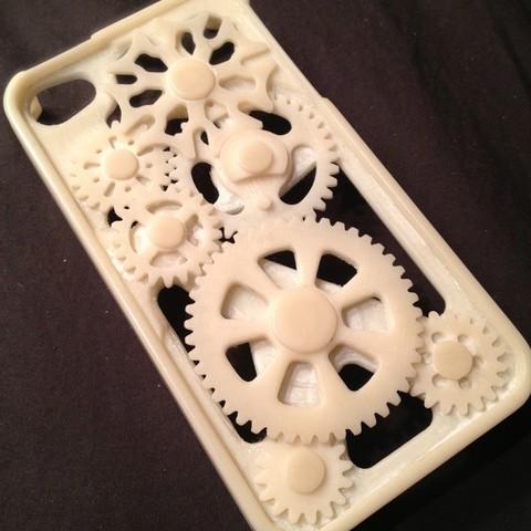 8588652730_75b474dc56_o_display_large.jpg Télécharger fichier STL gratuit Amélioré ! iPhone Gear Case avec mécanisme de Genève • Objet pour impression 3D, bobodurand4589