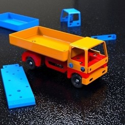 Download free 3D printer model Truck V1, bobodurand4589