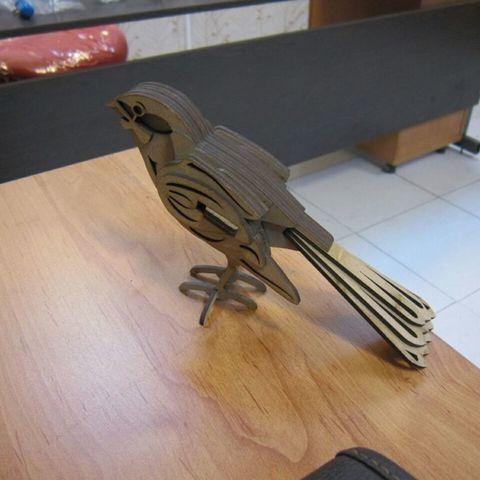 Télécharger STL gratuit Oiseau, bobodurand4589