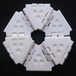 Download free 3D printer designs Another Hexaflexagon, bobodurand4589