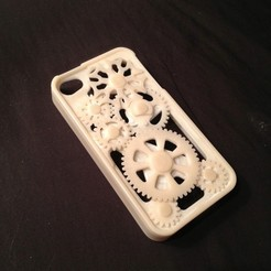 Download free 3D printer model iPhone 4/4s Case basis for modification, bobodurand4589