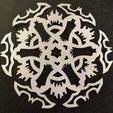 Free 3D printer model Bat Flake, Ghashnarb