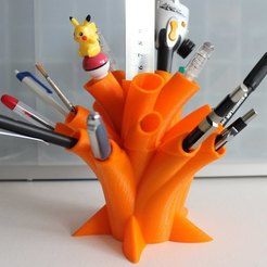 Download free STL file Pen Holder, Ghashnarb