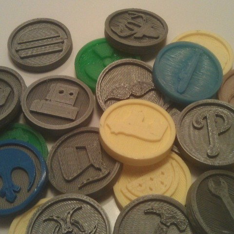 Download free 3D printer designs Many Coins, Ghashnarb