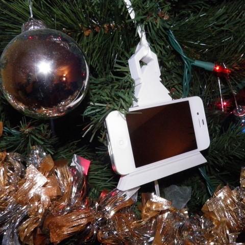 PC200059_display_large.jpg Télécharger fichier STL gratuit Jouer Musique iphone iphone Décoration de Noël • Modèle à imprimer en 3D, Ghashnarb