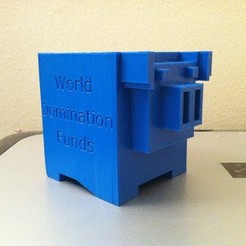 Download free 3D printing templates World Domination Funds, Ghashnarb