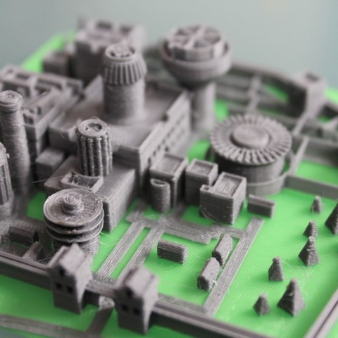 Free 3D printer files Winterfell, Ghashnarb