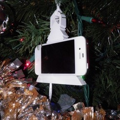Free 3D printer files Play Music iphone Christmas Ornament, Ghashnarb