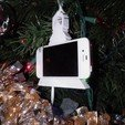 Download free 3D printing templates Play Music iphone Christmas Ornament, Ghashnarb