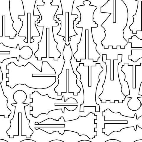chess_all_display_large.jpg Télécharger fichier STL gratuit Échecs à trois joueurs d'Acryl • Plan pour imprimante 3D, Ghashnarb