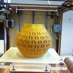Free 3D printer files Another Twisted Vase, Yazhmog