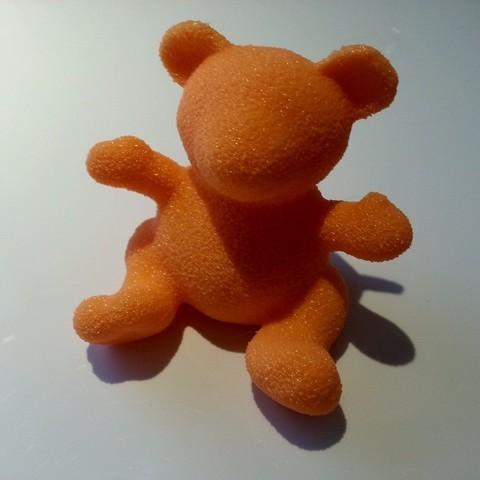 Download free 3D printing templates Fuzzy Bear, Yazhmog