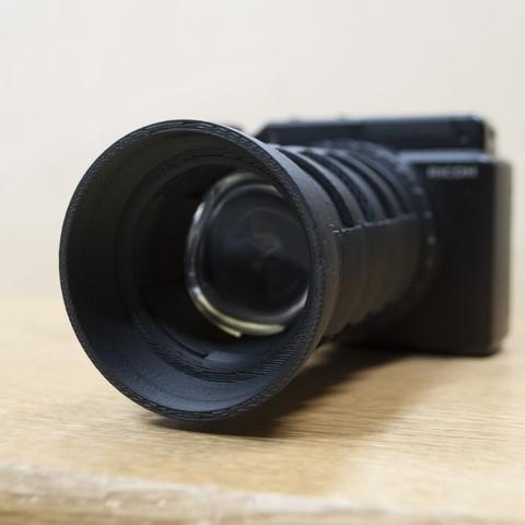 Download free 3D model Hand-made camera lens, Yazhmog