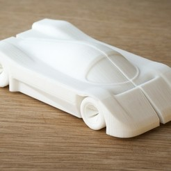 Download free 3D printer designs car (mercedes c9 inspired), Yazhmog