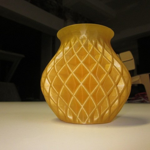 Free 3D print files Double Twisted Vase, Yazhmog