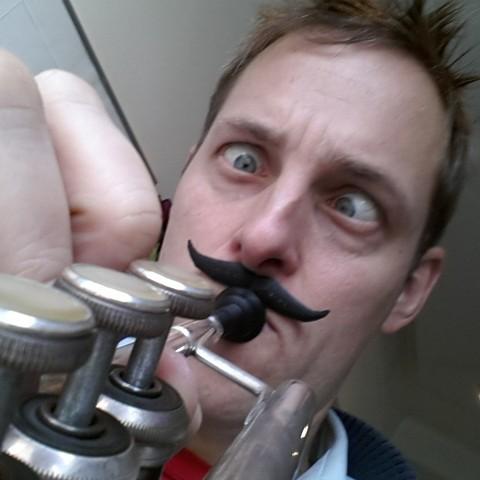 Download free 3D printer designs Mouthstachepiece, Yazhmog