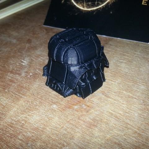Download free STL files Rubik's Vader, Yazhmog