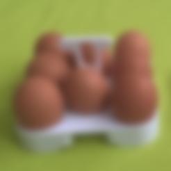 part_01.stl Download free STL file Eggs holder (8pcs) • 3D print object, martincollar