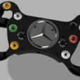 Descargar STL DIY MERCEDES AMG GT3 EASY Steering Wheel, SimWheel_Designs