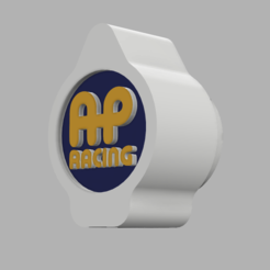 boton ap racing.PNG Download STL file BUTTON KNOB AP RACING BRAKE • 3D print model, SimWheel_Designs