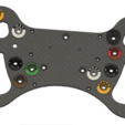 Download 3D printer designs DIY MERCEDES AMG GT3 JOYSTICK Steering Wheel, SimWheel_Designs