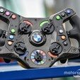 Download 3D printer model DIY BMW M8 GTE (BIG BOY) Steering Wheel, SimWheel_Designs