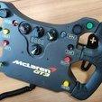 Download 3D model DIY McLaren MP4-12C GT3 Steering Wheel, SimWheel_Designs