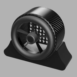 fan.PNG Download STL file DIY WIND SIMULATOR SWD • Template to 3D print, SimWheel_Designs