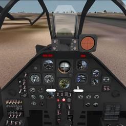 Imprimir en 3D AH-1 COBRA TABLERO COCKPIT, aerotaller