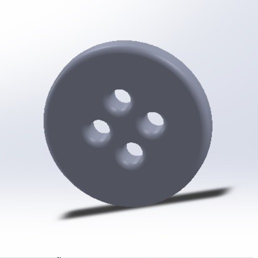 Download free STL files Button for shirt, trousers, or garment, conagrr