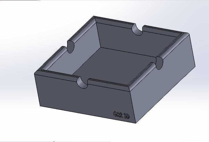 cenicero.jpg Download free STL file Ashtray • 3D printing template, conagrr