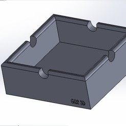 cenicero.jpg Download free STL file Ashtray • 3D printing template, conagrr