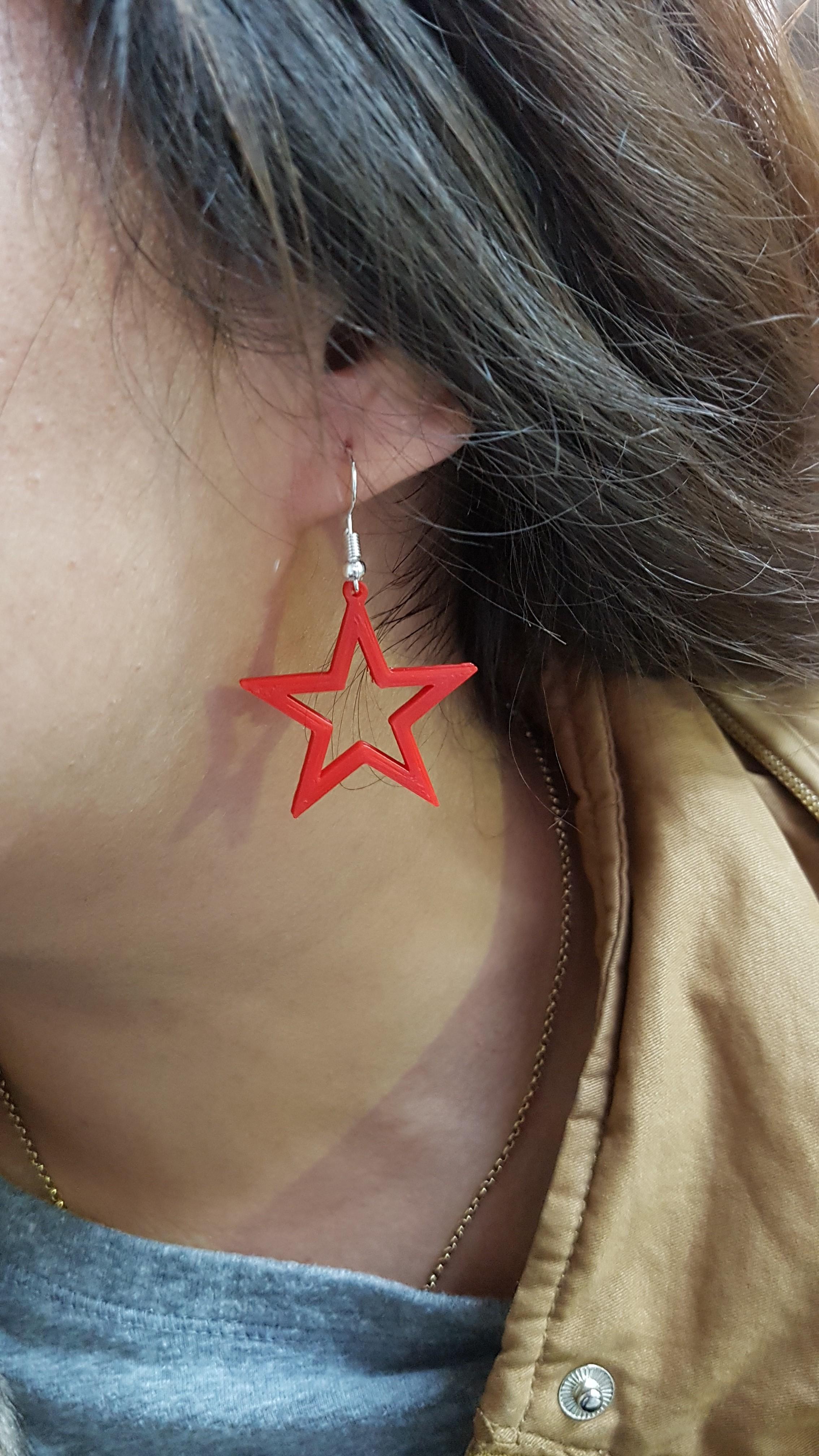 20191021_180840.jpg Download STL file Fantasy Earrings 1 • 3D printer design, conagrr