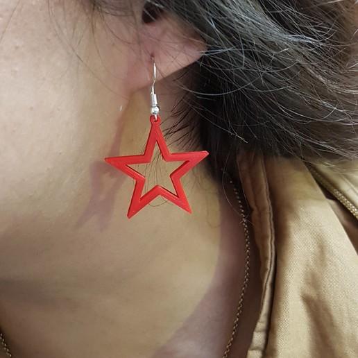 Télécharger plan imprimante 3D Boucles d'oreilles fantaisie 1, conagrr