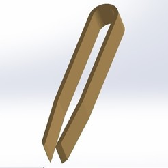 pinza1.jpg Download free STL file Depilation and Multipurpose Clamp • Template to 3D print, conagrr