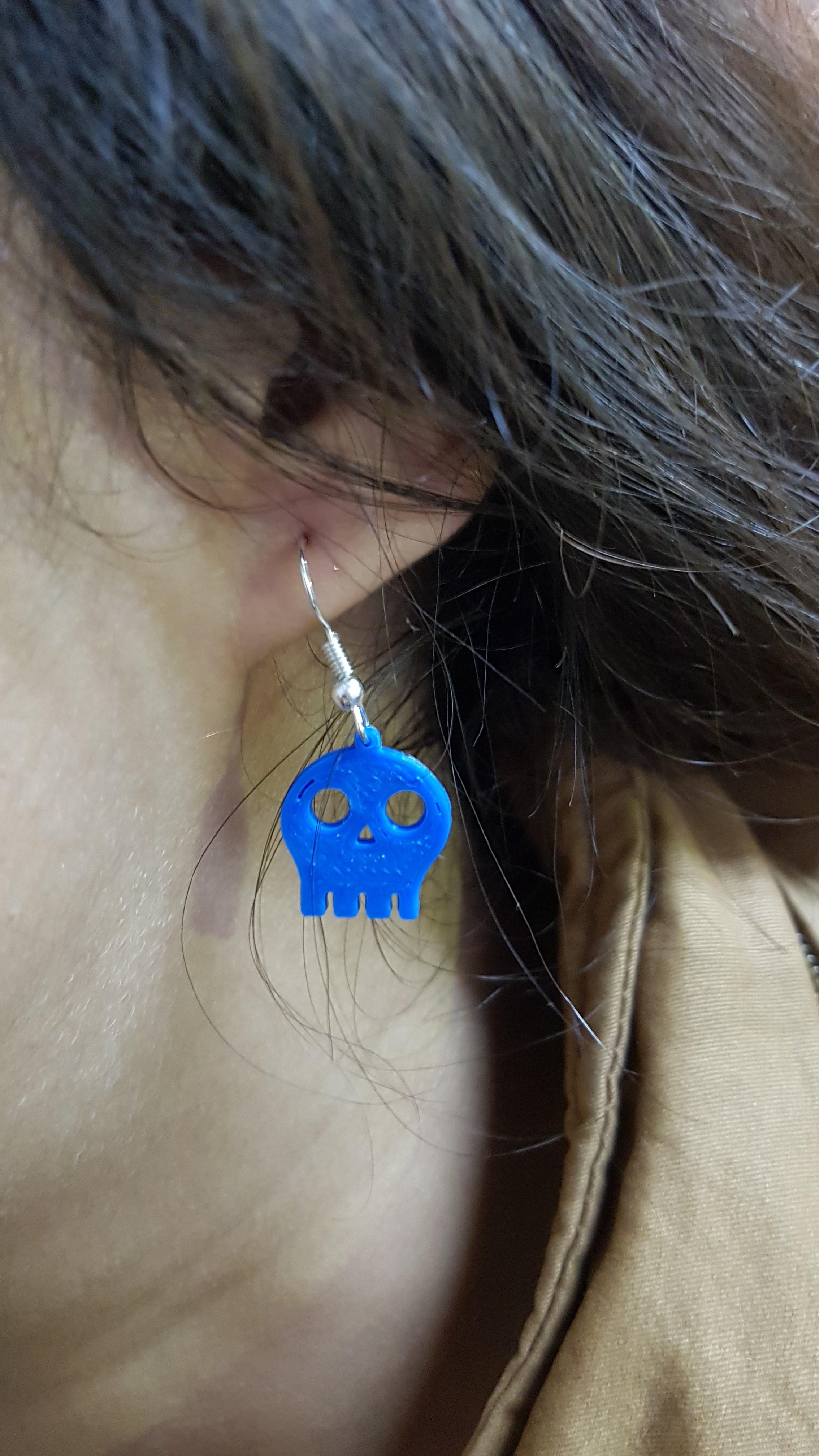 20191021_181637.jpg Download STL file Fantasy Earrings 1 • 3D printer design, conagrr
