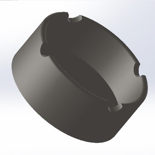 Download free 3D printing models V2 ashtray, conagrr
