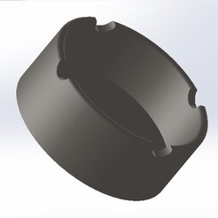 cenicero1.jpg Download free STL file V2 ashtray • 3D printing template, conagrr