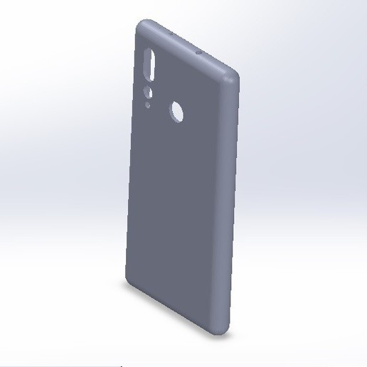 Télécharger modèle 3D Etui pour téléphone portable Huawei Nova 4, conagrr