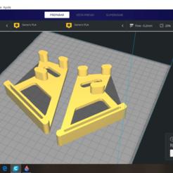 Download 3D printer designs Holder asus k 52 right left, sanvikingo