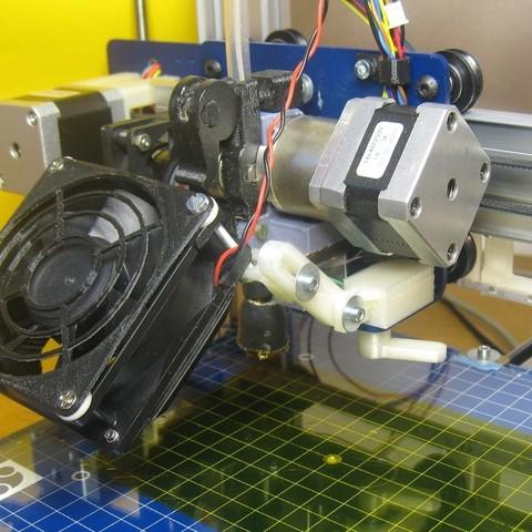 Télécharger plan imprimante 3D gatuit Support de ventilateur à démontage rapide, Duskwin