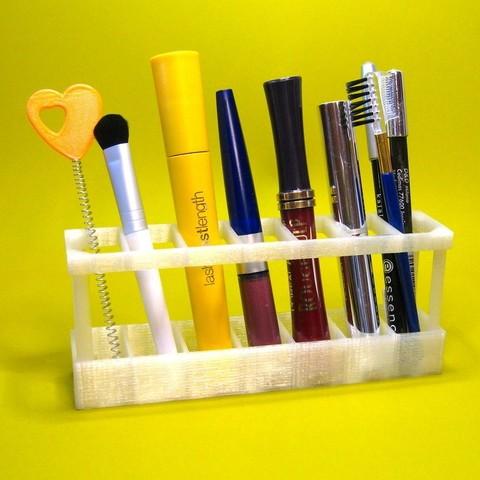 Télécharger fichier imprimante 3D gratuit Range-ustensiles pour cosmétiques - Long Edition, Duskwin