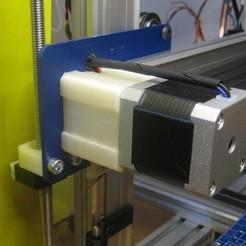 Télécharger fichier imprimante 3D gratuit Hadron (ORD Bot) Support pour moteur en X, Duskwin