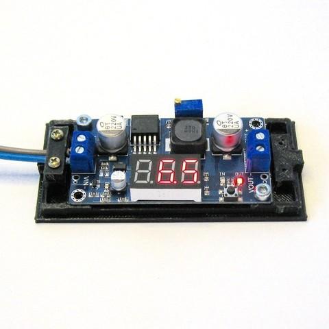 Télécharger plan imprimante 3D gatuit LM2596 Boîtier de convertisseur d'alimentation DC-DC LM2596, Duskwin