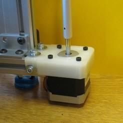 Archivos 3D gratis Hadron (ORD Bot) Soporte rígido del motor en Z, Duskwin