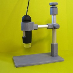 Download free 3D model USB Microscope Stand, Duskwin