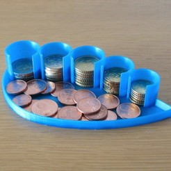 Download free 3D printer designs Coin Holder, Duskwin