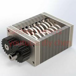 Descargar archivo 3D Mini trituradora de plástico DIY, mrchendiy
