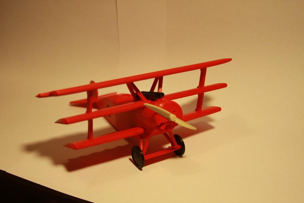IMG_7061_display_large.jpg Télécharger fichier STL gratuit Fokker DR.1 Triplane • Design imprimable en 3D, Ventwallader